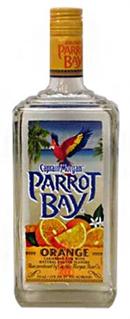 Captain Morgan Parrot Bay Rum Orange
